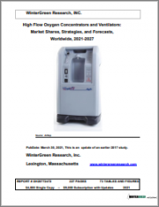 High Flow Oxygen Concentrators and Ventilators: Market Shares, Strategies and Forecasts, Worldwide 2021-2027
