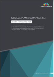 Medical Power Supply Market by Converter Type (AC-DC, DC-DC), Application (MRI, ECG, EEG, PET, CT Scan, Ultrasound, X-ray, MEG, Mammography, Ablation, Dental), Construction (Enclosed, External, Encapsulated), Type (Standard) - Global Forecast to 2025